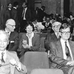 Prof. Nishio, Prof. Simon, Frau Anke Meinhof, Prof. Racz, Frau Prof. Török